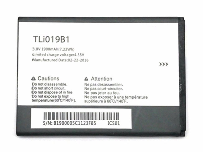 Alcatel TLI019B1 battery